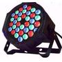 Pack 10 Focos Par 36 Led Alta Luminosidad Rgb Audioritmico