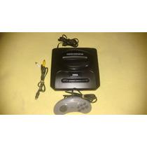 Mega Drive 3 Com 30 Jogos Na Memoria