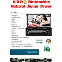 Central Multimidia Retratil 7 Poligadas Com Tv/gps/bt
