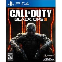 Call Of Duty Black Ops 3 Iii 100% Português Mídiafísica Ps4