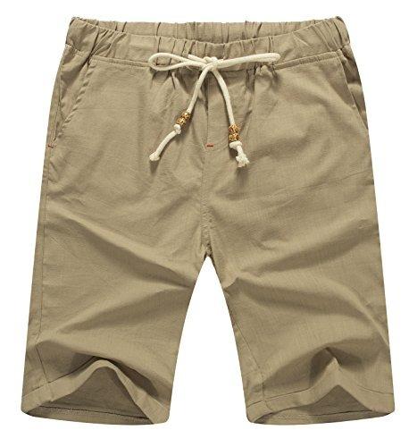 dc2dcc081d Sr Zhang Clásico Casual Lino Hombres     1     Pantalones C -   1