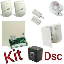 Kit Alarma Dsc Hibrida Pc585 De 4-32 Zonas