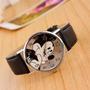Relógio De Pulso Adolescente/criança Quartzo Mickey Mouse