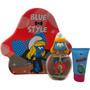 Primer Americano Marcas Los Pitufos Azul Estilo Pitufina