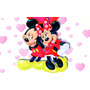 Painel Decorativo Disney Infantil Lona Minnie 1,4m X 1m