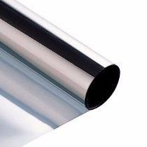 Vidro Espião - Película Prata Fumê Medindo 1,52m X 2,50m