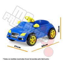 Brinquedo Carrinho De Pedalar Audi Azul Sedan Homeplay