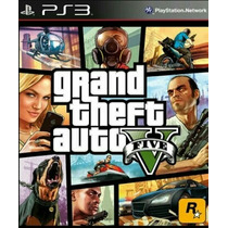 Gta V 5 Ps3 - Grand Theft Auto V Ps3 Em Mídia Digital Psn