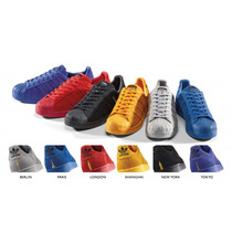 Adidas Superstar City Pack Shanghai Berlin Paris New York