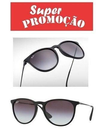Óculos Rayban Erika Preto Fosco   Envio 24 Hs - R  269,49 em Mercado Livre 7c711ad5f6