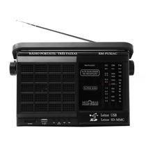 Rádio Motobras 3 Faixas Am/fm/ Com Entrada Usb Frete Gratis