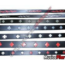 Cinturones Cinto Roqueros Varios Modelos Colores Musicapilar