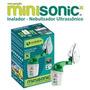 Inalador/nebulizador Ultrassônico Portátil Minisonic
