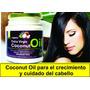 Aceite De Coco Extra Virgen Y Orgánico 250 Gr. Adios Frizz