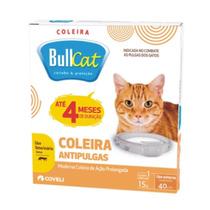 Coleira Antipulgas Para Gatos Bullcat Ação Prolongada 40cm