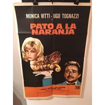 Afiche De Cine - Pato A La Naranja