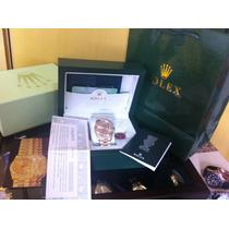 Rolex Day Date Presidente Gold 40mm Na Caixa