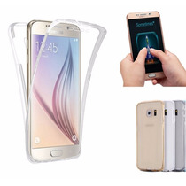 Funda Tpu Samsung Galaxy S7 Y S7 Edge Tpu Doble 360!