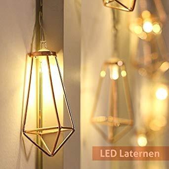 82dae8ef5 Cordão De Luz Led Candelabro Lanterna Decoração Festa - R  65
