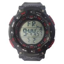 Relógio Atlantis Esportivo Original Frete Grátis