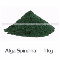 Alga Espirulina Spirulina Maxima En Polvo 500gr 2clicmx