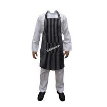 Delantal De Dril Con Peto Para Cheff / Cocina / Parrilla