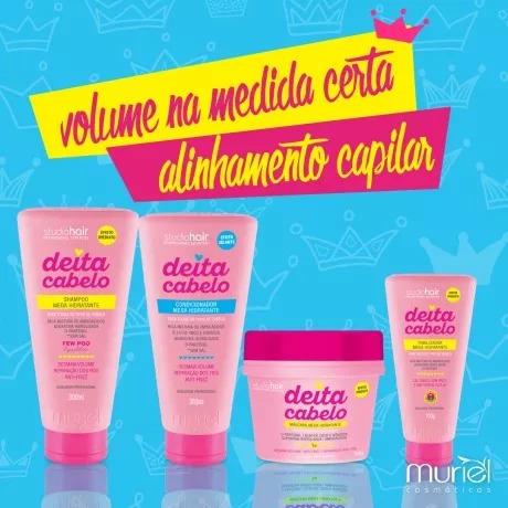 0ced04d20 Shampoo Deita Cabelo 300ml Muriel Studio Hair - R$ 49,90 em Mercado Livre