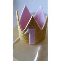 Coroa Ou Chapeu Aniversário Bebe 1 Ano