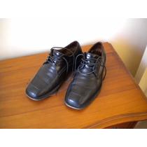 Zapatos Guante. Linea Clásica . Color Negro . N° 39 .