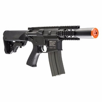 Marcadora Airsoft Electrica Bbs Force M4 Cqc 6mm Gotcha Xtre