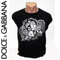 Camisa Dolce & Gabbana Blazon P, M, G E Gg