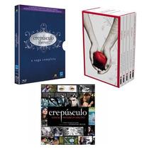 Kit Crepúsculo - Blu-ray+box(5 Vol)+livro Anotações Diretora