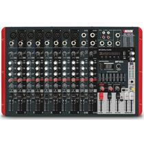 Mixer Mesa De Som Novik Amplificada Nvk1200p Frete Grátis