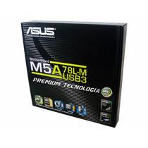 Tarjeta Madre Asus M5a78l-m Usb3 Am3+ Ddr3 1gb Video Full Hd
