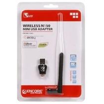 Adaptador Usb Wireless Encore 1xn42 150mbps Antena Externa E