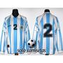 Camiseta Seleción Argentina - Adidas 1997 - Usada En Juego