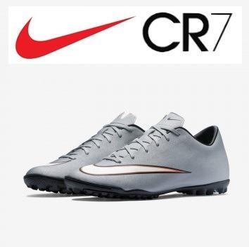 Zapatillas Nike Mercurial Victory Cr7 Turf Nueva Original - S  400 ... fb002cb28f4ff