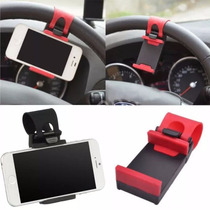 Soporte Ajustable Base Celular Gps Volante Auto Coche