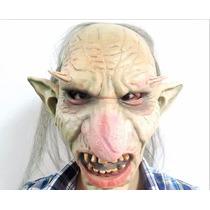 Máscara Latéx Goblin Monstro Realista - Pronta Entrega