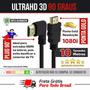 Cabo Hdmi 1.4 10 Metros Full Hd 1080i Lcd Ps3 Ps4 Xbox Tv 3d