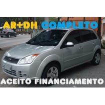 Ford Fiesta 2008 Entrada R$1200 E 48 X R$517 Completo