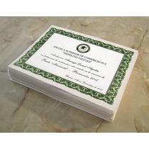 10 Diplomas - Certificados Egresados - 21,5 X 29 Cm.