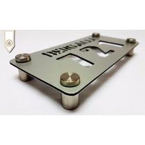 Números De Puerta En Aluminio Con Separadores - Alucobon Cnc