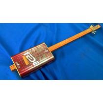 Cigar Box Guitar Modelo Thinner
