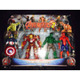 Kit Avengers Hulkbuster Hulk Capitão América E Homem Aranha