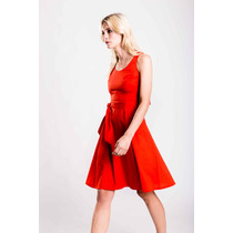 Vestido Marylin Tomate Estancias Chiripa
