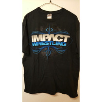 Tna Playera Impact Wrestling Authentic (talla Grande)