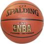 Pelota Basquet Spalding Nba Gold Cuero Comp Basket N7 Basket