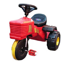 Triciclo Tractor Con Volante Bocina Rodacross Auto A Pedal