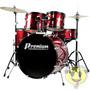 Bateria Musical Premium Dx722 Completa - Loja Kadu Som